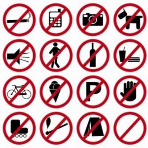todo está prohibido