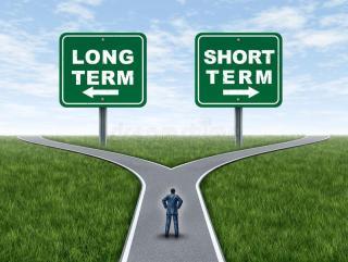 Corto o largo plazo